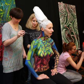 Body Art Bodypainting Workshop Baletcolor